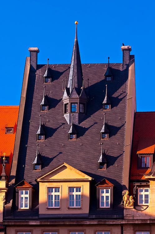 Architecture, Leipzig, Saxony, Germany