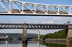 Newcastle Metro: bridge over River Tyne UK
