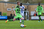 Forest Green Rovers Mark Ellis(5) during the Vanarama National League match between Forest Green Rovers and Chester FC at the New Lawn, Forest Green, United Kingdom on 14 April 2017. Photo by Shane Healey.