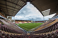 General view of Bradford's stadium before the The FA Cup match between Bradford City and Chesham FC at the Coral Windows Stadium, Bradford, England on 6 December 2015. Photo by Mark P Doherty.