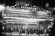 PD-720122-3-12. Cold Blood & Brown Sugar on Paramount Theater marquee. June 19, 1972