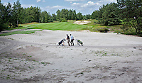 MAARSBERGEN - Waste area, zandbak, Golfclub Anderstein. FOTO KOEN SUYK