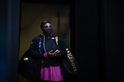 Serena Williams of the U.S. takes the court in a protective face mask before facing Bulgaria's Tsvetana Pironkova in a Yarra Valley Classic tournament match ahead of the 2021 Australian Open at Melbourne Park in Melbourne, Australia. The coronavirus disease (COVID-19) pandemic threatened to spoil the summer slate of Australian tennis.