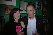 Bella Freud and James Fox , Future Punk Launch party at Selfridges, Oxford St. : 9th March. ONE TIME USE ONLY - DO NOT ARCHIVE  © Copyright Photograph by Dafydd Jones 66 Stockwell Park Rd. London SW9 0DA Tel 020 7733 0108 www.dafjones.com