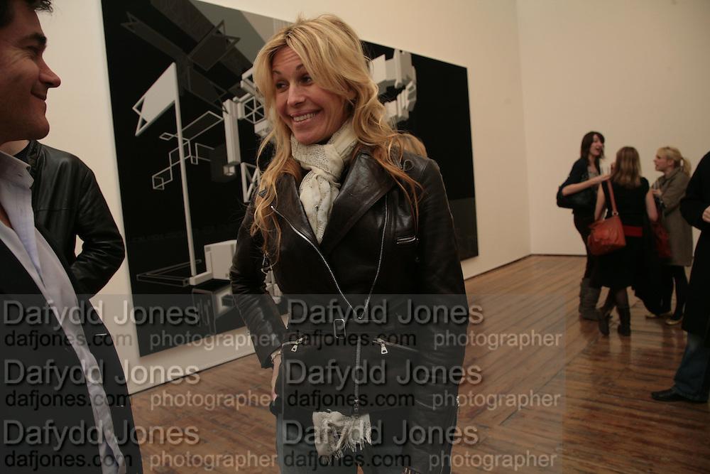 Melissa Odabash, Planit- Exhibition of work by Ian Munroe. Haunch of Venison. London. 1 March 2007.  -DO NOT ARCHIVE-© Copyright Photograph by Dafydd Jones. 248 Clapham Rd. London SW9 0PZ. Tel 0207 820 0771. www.dafjones.com.
