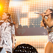"WASHINGTON, DC - December 15th, 2014 - Jesse J and Ariana Grande perform their hit song ""Bang Bang"" during HOT 99.5's Jingle Ball 2014 at the Verizon Center in Washington, D.C. (Photo By Kyle Gustafson / For The Washington Post)"