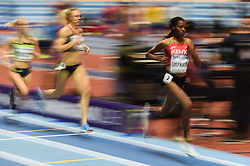 March 2, 2018 - Birmingham, England, United Kingdom - Beatrice Chepkoech of Kenya at 1500 meter semi final at World indoor Athletics Championship 2018, Birmingham, England on March 2, 2018. (Credit Image: © Ulrik Pedersen/NurPhoto via ZUMA Press)