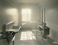 1926 2nd floor utility room at the Hollywood Studio Club on Lodi Pl.