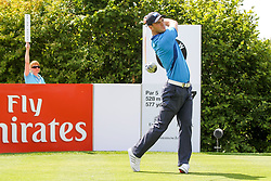 26.06.2014, Golf Club Gut Laerchenhof, Pulheim, GER, BNW International Golf Open, im Bild Martin Kaymer (GER) am Abschlag, Tee <br />