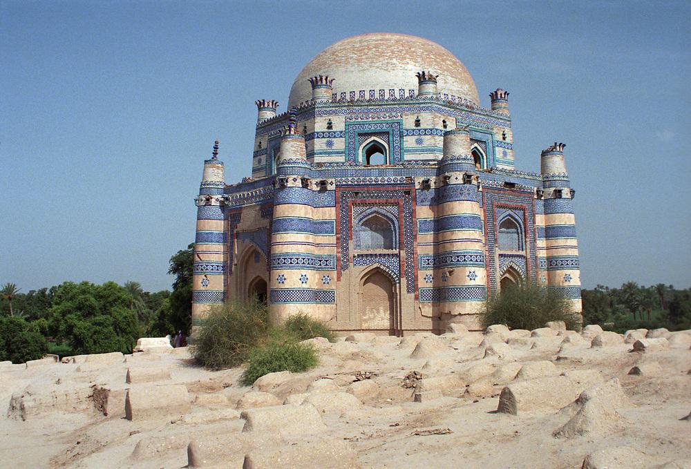 Shrine of Bibi Jawindi, Uch Sharif, Pakistan