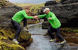 09-07-2014 ISL: Iceland Diabetes Challenge Dag 5, Emstrur<br /> Van Alftavatn naar Emstrur / Bas van de Goor, Abderrahman Laghmouchi
