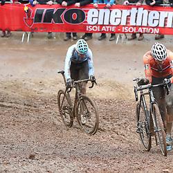 29-01-2017: Wielrennen: Wereldkampioenschap veldrijden: Luxemburg<br />BIELES (LUX) cyclocross  <br />Het was een gevecht tussen Mathieu van der Poel en Wout van Aert