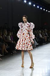 September 12, 2018 - New York, New York, U.S - September, 2018 - New York, New York  U.S. - A model on the runway at the CHIARA BONI LA PETITE ROBE S/S 2019 RTW show during New York Fashion Week 2018.  (Credit image (c) Theano Nikitas/ZUMA Wire/ZUMAPRESS.com (Credit Image: © Theano Nikitas/ZUMA Wire)
