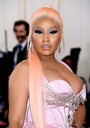 Nicki Minaj attending the Metropolitan Museum of Art Costume Institute Benefit Gala 2019 in New York, USA.