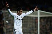 Jose Callejon celebrates his goal