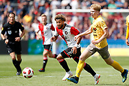 Feyenoord-player Tonny Vilhena (L) and Excelsior-player Jerdy Schouten (R) during the Dutch football Eredivisie match between Feyenoord and Excelsior at De Kuip Stadium in Rotterdam, on August 19th, 2018 - Photo Stanley Gontha / Pro Shots / ProSportsImages / DPPI
