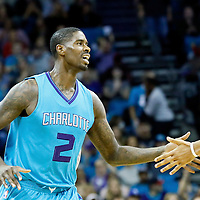 01 November 2015: Charlotte Hornets forward Marvin Williams (2) is seen during the Atlanta Hawks 94-92 victory over the Charlotte Hornets, at the Time Warner Cable Arena, in Charlotte, North Carolina, USA.