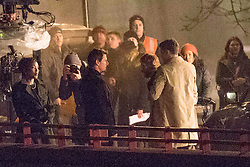 Tom Cruise and cast film final scenes for Mission Impossible 6 in London. Tom appeared to still be in pain from his broken ankle as he hobbled between takes. The scene also starred Vanessa Kirby, Henry Cavill, Angela Bassett and Sean Harris. 03 Feb 2018 Pictured: Tom Cruise, Angela Bassett. Photo credit: MEGA TheMegaAgency.com +1 888 505 6342