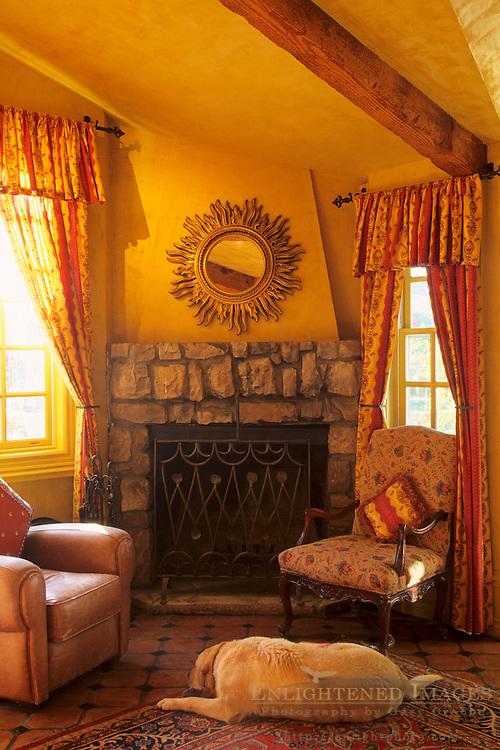 Interior, Justin Vineyards & Winery, Chimney Rock Road, Paso Robles, San Luis Obispo County, California