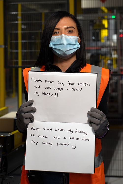 Inside Amazon MAN 3 Fulfilment Center.  Worked at Amazon  for 7mths, from Bolton.
