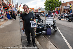 Main Street during the Sturgis Black Hills Motorcycle Rally. Sturgis, SD, USA. Saturday, August 10, 2019. Photography ©2019 Michael Lichter.