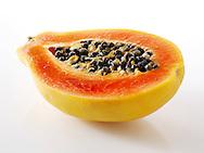 Fresh Papaya halves