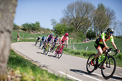 Chantal Blaak (NED) of Boels-Dolmans Cycling Team descends during the Amstel Gold Race - Ladies Edition - a 126.8 km road race, between Maastricht and Valkenburg on April 21, 2019, in Limburg, Netherlands. (Photo by Balint Hamvas/Velofocus.com)