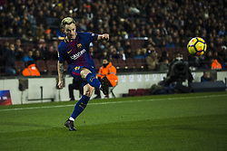 December 17, 2017 - Barcelona, Catalonia, Spain - Ivan Rakitic from Croatia of FC Barcelona during the La Liga match between FC Barcelona v Deportivo at Camp Nou Stadium on December 17, 2017 in Barcelona, Spain. (Credit Image: © Xavier Bonilla/NurPhoto via ZUMA Press)