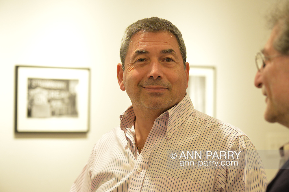 Ralph Masullo at Fotofoto Gallery Opening Reception, on November 8, 2014, at Huntington, Long Island, New York, USA