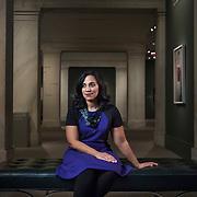 Leslie Ureña, assistant curator of photographs, National Portrait Gallery. For Northwestern University Alumni Magazine