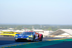 June 18, 2017 - Le Mans, Sarthe, France - Ford Chip Ganassi Team USA Michelin Ford GT.TONY KANAAN (BRA) in action during the race of the 24 hours of Le Mans on the Le Mans Circuit - France (Credit Image: © Pierre Stevenin via ZUMA Wire)