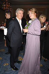 EMMA THOMPSON and JOHN FRIEDA at the 10th Anniversary Party of the Lavender Trust, Breast Cancer charity held at Claridge's, Brook Street, London on 1st May 2008.<br /><br />NON EXCLUSIVE - WORLD RIGHTS