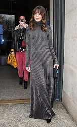 Celebrities are seen arriving to Carolina Herrera Fall/Winter 2019 Fashion Show during New York Fashion Week at the New York Historical Society. 11 Feb 2019 Pictured: Michelle Monaghan. Photo credit: MEGA TheMegaAgency.com +1 888 505 6342