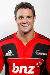 Dan Carter. Crusaders Headshots. Investec Super Rugby, Rugby Park, Christchurch. Thursday 3 Febuary 2011 . Photo: Simon Watts/photosport.co.nz