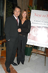 Comedian BRIAN CONLEY and his wife ANNE-MARIE at a party to celebrate the publication of 'Next To You' - Caron's Courage remembered by her mother Gloria Hunniford held on Caron's birthday at The Hilton Park Lane, London on 5th Octobe 2005.<br />