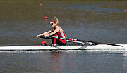 Caversham  Great Britain.<br /> Ellie LEWIS.<br /> 2016 GBR Rowing Team Olympic Trials GBR Rowing Training Centre, Nr Reading  England.<br /> <br /> Tuesday  22/03/2016 <br /> <br /> [Mandatory Credit; Peter Spurrier/Intersport-images]