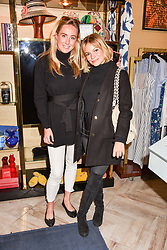 Left to right, Jemima Cadbury and Chantal Piper at the Seren London Launch Party held at Baar And Bass, 336 Kings Road, London England. 26 April 2017.