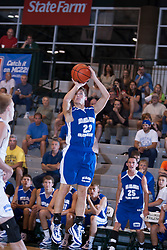 25 June 2011: Sam Brown at the 2011 IBCA (Illinois Basketball Coaches Association) boys all star games.