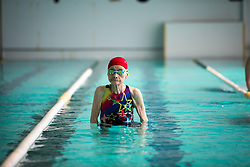 August 4, 2017 - Yanai, Yamaguchi, Japan - 103-year-old Mieko Nagaoka is seen training in Yanai Swimming School, Yanai City, Yamaguchi prefecture, Japan on August 4, 2017. (Credit Image: © Richard Atrero De Guzman/NurPhoto via ZUMA Press)