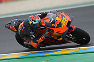 #44 Pol Espargaro, Spanish: Red Bull KTM Factory Racing during the MotoGP Grand Prix de France at the Bugatti Circuit at Le Mans, Le Mans, France on 18 May 2019.