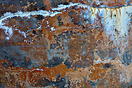 patina walls details, abstract with paint, stains, rust, and weather worn colors