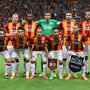 Galatasaray's players during their UEFA Champions League Group Stage Group D soccer match Galatasaray between Borussia Dortmund at the Ali Sami Yen Spor Kompleksi in Istanbul, Turkey on Wednesday 22 October 2014. Photo by Aykut AKICI/TURKPIX
