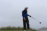 Robbie Davidson (Knock) on the 8th tee during Round 3 of the Ulster Boys Championship at Donegal Golf Club, Murvagh, Donegal, Co Donegal on Friday 26th April 2019.<br /> Picture:  Thos Caffrey / www.golffile.ie
