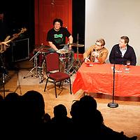 Adam Conover, Jared Logan, New York City PodFest - Jan 12, 2013 - The PIT