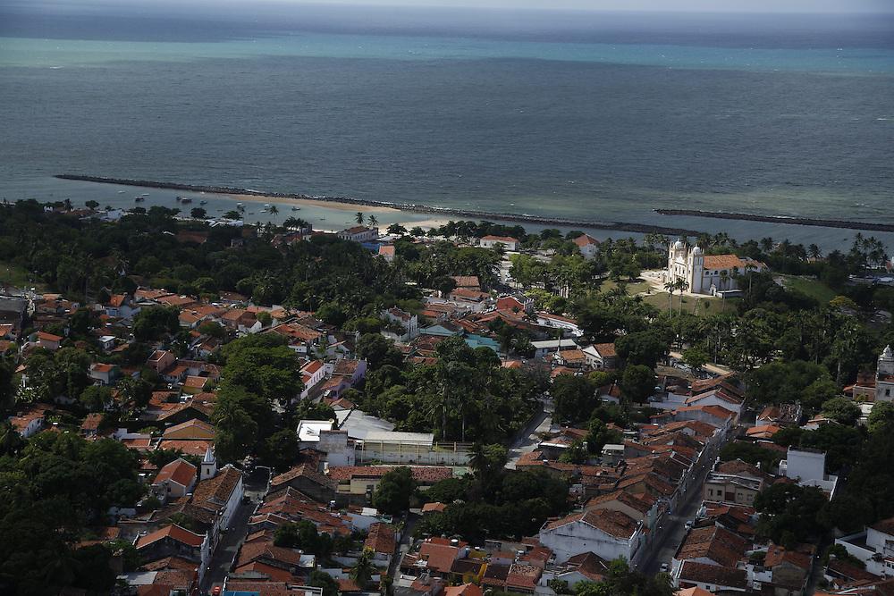 Olinda_PE, Brasil.<br /> <br /> Imagens aereas de Olinda, Pernambuco. Na foto igreja Nossa Senhora do Carmo.<br /> <br /> Aerial view of Olinda, Pernambuco. In this photo, Nossa Senhora do Carmo church.<br /> <br /> Foto: LEO DRUMOND / NITRO