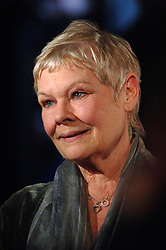 Best Actress Nominee Dame Judi Dench, arrives for The British Independent Film Awards at The Roundhouse, London.