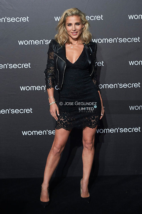 Elsa Pataky attends the presentation of Women's Secret videoclip with Elsa Pataky as singer at La Riviera on November 11, 2015 in Madrid