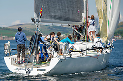 Day 3 Scottish Series, SAILING, Scotland.<br /> <br /> Tangaroa, Pronavia 38, 1121L, CCC <br /> <br /> The Scottish Series, hosted by the Clyde Cruising Club is an annual series of races for sailing yachts held each spring. Normally held in Loch Fyne the event moved to three Clyde locations due to current restrictions. <br /> <br /> Light winds did not deter the racing taking place at East Patch, Inverkip and off Largs over the bank holiday weekend 28-30 May. <br /> <br /> Image Credit : Marc Turner / CCC