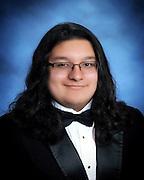 North Houston Early College High School valedictorian Cyrus Gordillo.