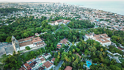 Vista aérea da Igreja de São Salvador do Mundo no Largo da Sé, em Olinda. Conhecida como Catedral Sé de Olinda. FOTO: Jefferson Bernardes/ Agência Preview